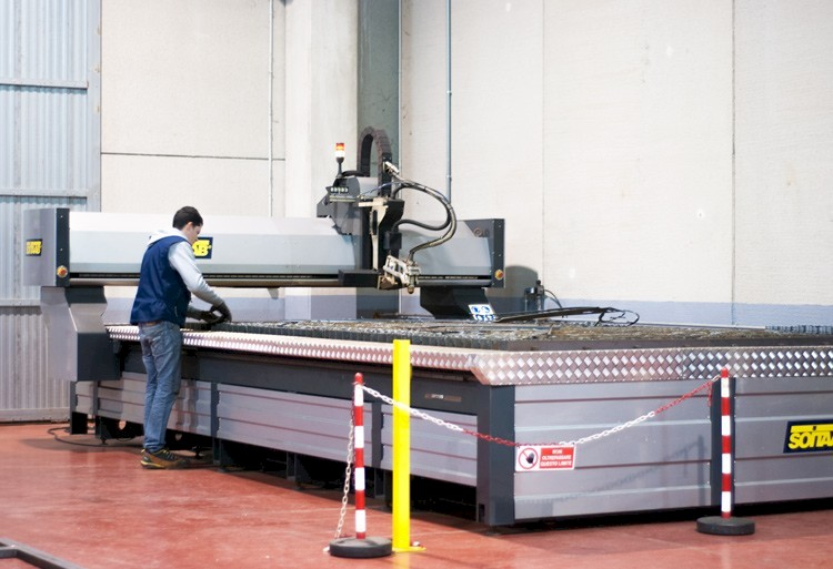 HPR260XD Bevel plasma cutting