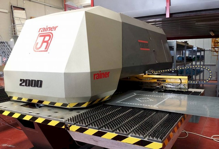 rainer 2000 punching machine